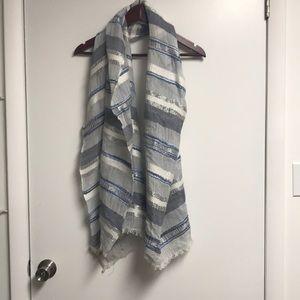 Jcrew striped scarf
